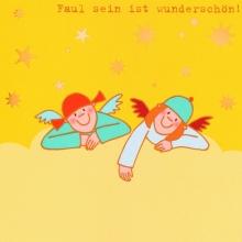 Himmlische Schwestern - Postkarte