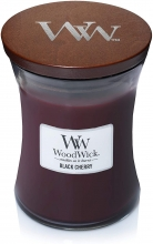 WOODWICK Medium Hourglass Candles - Black Cherry