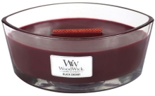 WOODWICK Ellipse Candle - Black Cherry