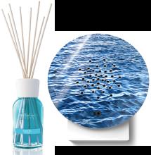 Zwitscherbox Oceanbox - Wellen inkl. ACQUA BLU - Millefiori Duftdiffusor 100 ml