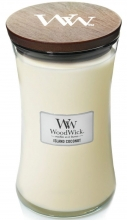 WOODWICK Large Hourglass Candles - Island Coconut