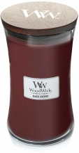 WOODWICK Large Hourglass Candles - Black Cherry