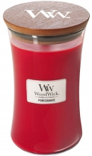WOODWICK Large Hourglass Candles - Pomegranate