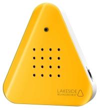 Lakesidebox / Zwitscherbox inkl. Saugnapf - Neon Orange - Jetzt neu