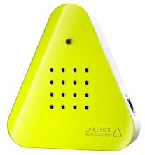 Lakesidebox / Zwitscherbox inkl. Saugnapf - Neon Gelb - Jetzt neu