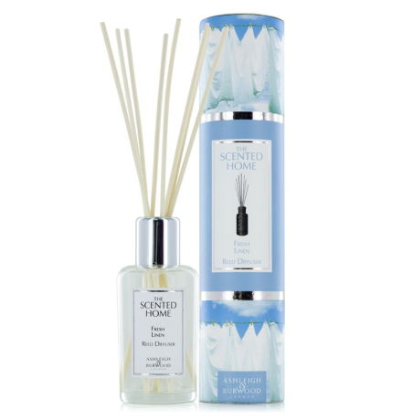 Ashleigh & Burwood  - FRESH LINEN - Reed Diffuser