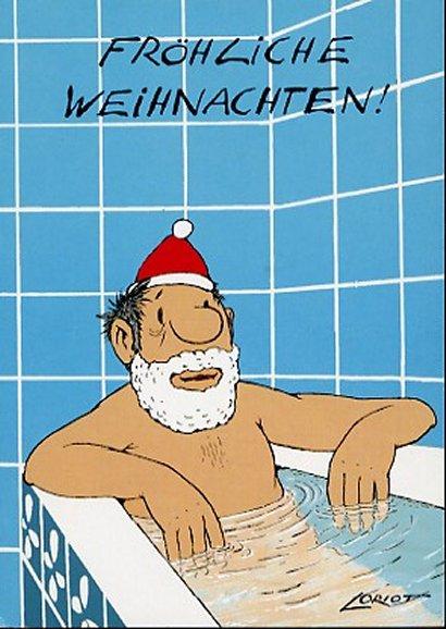 Loriot Weihnachten.Loriot Weihnachtspostkarte Frohliche Weihnachten