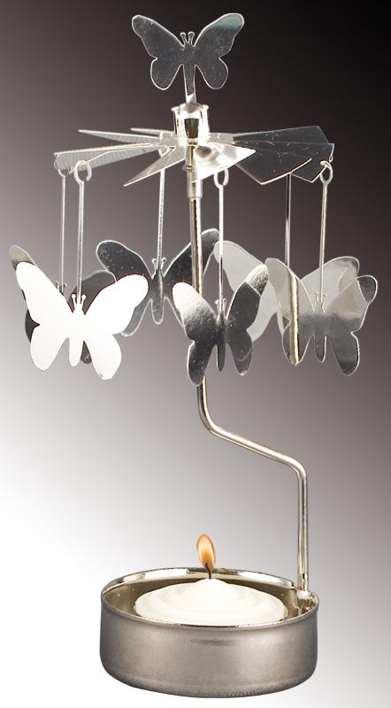 Teelicht Karussell Schmetterlinge Ashleigh Burwood Partner