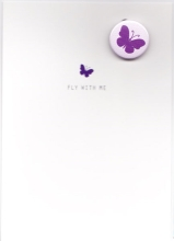Button-Set Karte - Fly with me
