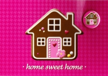 Button-Set Karte - home sweet home